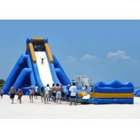 Best Giant Size Inflatable Water Slides 20mx7mx8m Dimension For Slider Game Playing wholesale