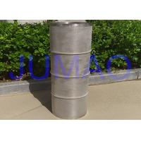 China Ballast Water Sintered Steel Filter , Stainless Steel Mesh Tube Filter on sale