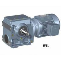 Best WS series helical- worm geared motor, Replace of SEW S series wholesale