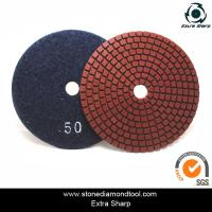Best velcro backed wet stone diamond polishing pads/marble abrasive tools wholesale
