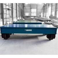 China Indoor Outdoor Battery Transfer Cart On Rails Large Table 2T - 500T Load Capacity on sale