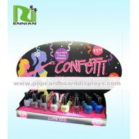Cheap Foldable Custom Nail Polish Cardboard POP Displays For Promotion for sale