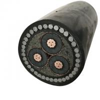 Buy cheap 8.7/15KV power cable 3 core 185mm armoured cable from wholesalers