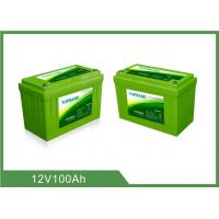 Best Lithium Iron Phosphate Deep Cycle Battery Pack Lifepo4 Zero Emission For Solar RV wholesale