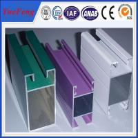 Best types of aluminium extrusion frame sliding glass/best price of aluminium sliding window wholesale