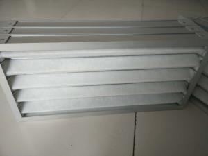 Best Polyester Fiber Metal Frame Panel Pleated Air Filters Primary Efficiency wholesale