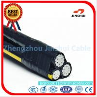 Best Polyethylene Insulation Triplex Electrical Wire , AAAC Overhead Service Conductors wholesale