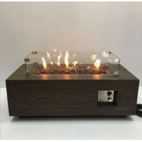 Best Factory price home decoration real flame LPG NPG propane outdoor gas fireplace fire pit wholesale