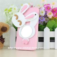 China wholesale cute cartoon phone pouch with a mirror on sale
