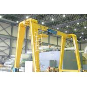 China 2 ton 5ton 8ton 10ton Light Duty Electric Gantry Crane With Wire Rope Hoist For Warehouse / Storage / Machine Mill wholesale