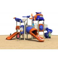 China Durable Anti UV Multi Color Childrens Plastic Playground Equipment CE Certificate on sale