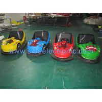 Best Sibo Coin Operated Fiber Glass Scooter Battery Bumper Car Electronic Bumper Car For Kids wholesale