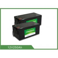 Best Lightweight Lithium ion Rechargeable Marine Battery 12V 250AH 2 years Warranty wholesale