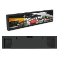 Best Black Color Stretched Bar LCD , 31.5'' Stretched LCD Display For Advertising wholesale
