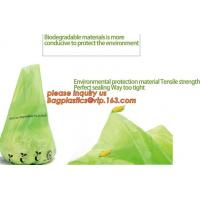 Best eco friendly biodegradable plastic compostable garbage bags, compostable biodegradable printed charity donation bag wholesale