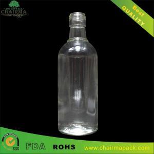 Best 375ml Round  Glass Bottle for Vodka wholesale