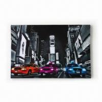 Best City Motif LED Canvas Framed Art, Customized Images are Accepted wholesale