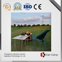 Best EATCAMP Outdoor Kitchen Station Of Tilia Solid Wood Table  Windproof Card Furnaces  7.4 Kg - 40 L - 3 KW * 2 For BBQ wholesale