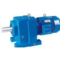 China R series industrial inline coaxial helical gearbox gear box speed reducer gearmotors (geared motors) on sale