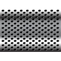 Best Diamond 3mm 2mm Perforated Anodized Aluminum Panels ISO9001-2008 Standard wholesale