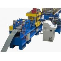 China 15KW 24 Stations Angle Rolling Machine , Rack Roll Forming Machine Hydrualic Shear on sale