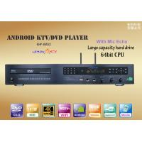 China Wholesale Android Home KTV karaoke player sing machine,download vietnames english from cloud,bulid in DVD-ROM on sale