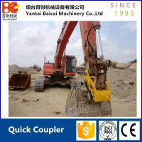 Buy cheap High quality Hydraulic quick coupler hitch for mini excavator connection from wholesalers