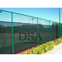 Best The school stadium pvc chain link fence/ outdoor fence/PVC fencing/fence designs wholesale