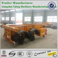 Best 2 axles container skeleton semi trailers/skeleton trailer wholesale