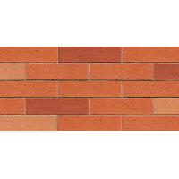 Best Mixed Red Color Flexible Wall Tiles / Brick Effect Wall Tiles Heat Insulation wholesale