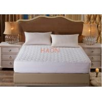 China Fitted Type Mattress Protector Cover Cotton Queen Size For Hotel on sale