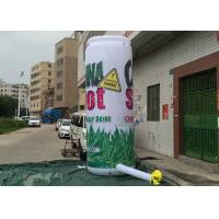 Best Vivid Design Inflatable Sale Signs , Giant Inflatable Bottle For Outdoor Promotion wholesale