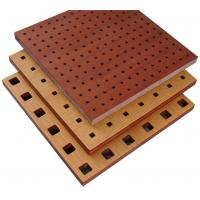 Best Fire Resistant Perforated Wood Acoustic Panels Thickness 18mm / 15mm wholesale