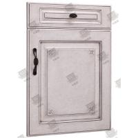 Best Moistureproof White Wooden Moulded Doors With Lock , Handle And Hinges wholesale