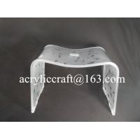 Best Custom Color Printing Acrylic Furniture, Transparent Dining Chair wholesale