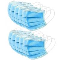 Best Anti Virus 3 Ply Surgical Face Mask High Filtration Efficiency  Soft Lining wholesale