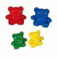 Best 12g Lovely Counters in Bear Shape, Comes in Red, Blue, Green and Yellow wholesale