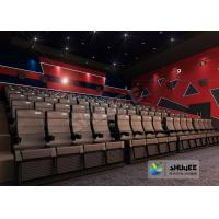 Best Digital 4D Movie Theater / Cinema Equipment For Hollywood Bollywood Movies wholesale