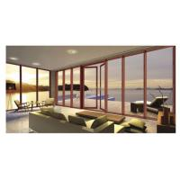 Best Hinge Aluminium Patio Doors / Soundproof Glass Door With Aluminium Frame wholesale