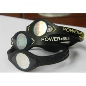 China original silicone power balance bracelet / ion wristband on sale