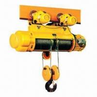 Best Motor driven electric hoist with double speed lifting, used mounted or hanging wholesale