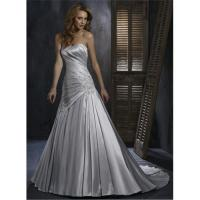 Best 2011 Silver Appliqued Bridal Dress wholesale