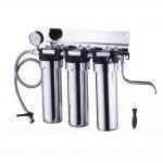 Best Stainless steel under sink water filter purifier with gauge wholesale
