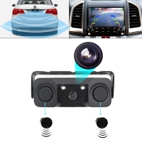 China Car Reversing Aid Camera with Radar Sensor Parking System with screen on sale