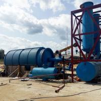 China 10 Tons Waste Tyre Recycling Plant,Waste Plastic/Rubber/Tyre To Fuel Oil Pyrolysis Plant on sale