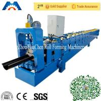 Buy cheap Galvanized Metal Water Tube /Pipe/Gutter Roll Forming Machine 10m/min with CE product