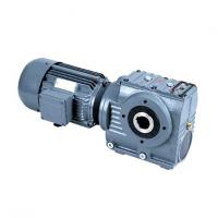 China Flange Mounted Hydraulic Helical Worm Gear Reducer With Electric Motor on sale