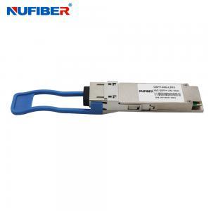 Best LR 10KM40G QSFP+ Fiber Optic Transceiver 1310nm wholesale