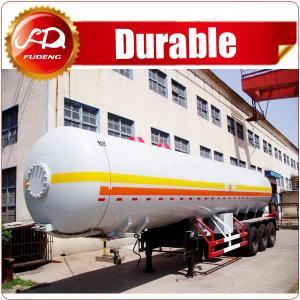 Best ASME standard liquid petrol gas delivery road tank semi trailer lpg tanker trailer for United Arab Emirates wholesale