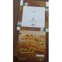 China Printed Corrugated Cardboard Pizza Box for Wholesale on sale